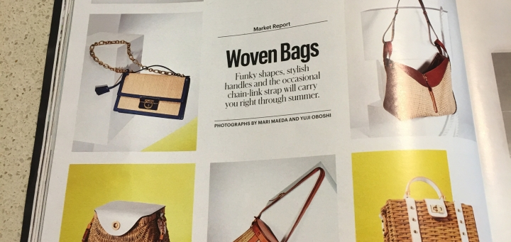 Summer Means Woven Bags