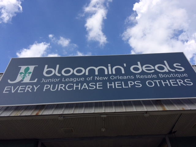 Bloomin sign