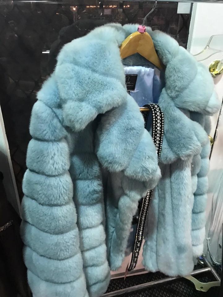Fur topper