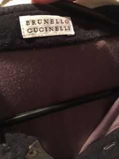 Brunello Cucinelli label