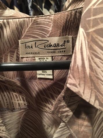 Tori Richard label