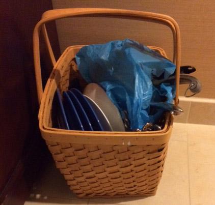 Basket cropped