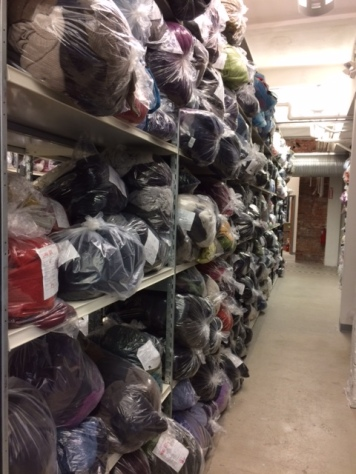 Since 2009, the Eileen Fisher Tiny Factory in Irvington, NY has collected more than a million previously worn Eileen Fisher garments.
