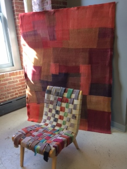 Designers are looking at new ways to use felted fabric created from used clothing.