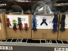 Zippers in boxes
