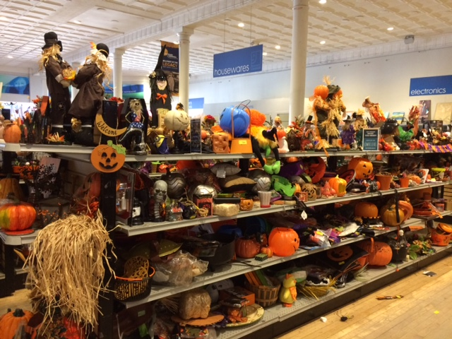Thrift Shops Love Halloween