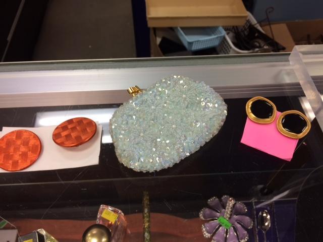 glitter purse