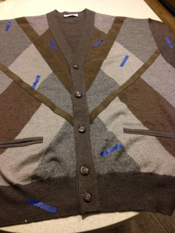 Sweater holes