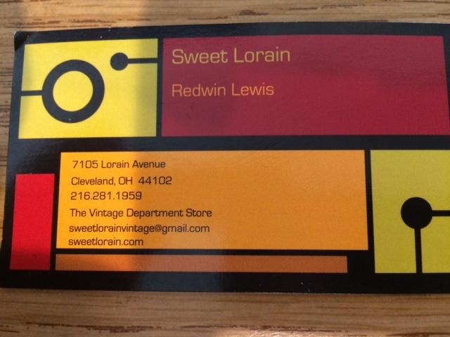 Sweet Lorain card