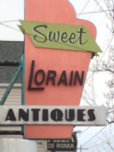 Sweet Lorain sign