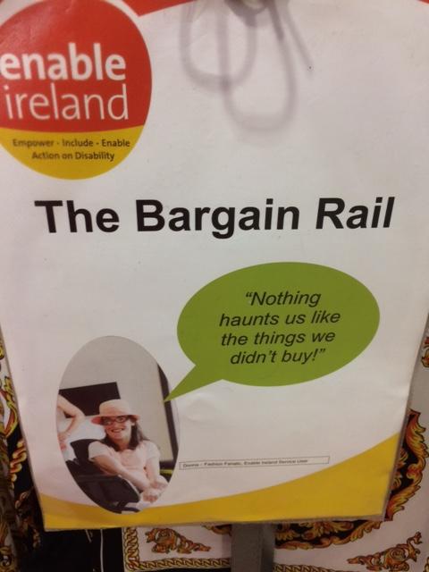 Enable bargain rail poster
