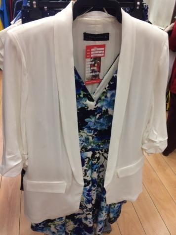 Enable white jacket