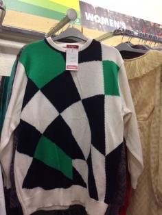 Oxfam sweater