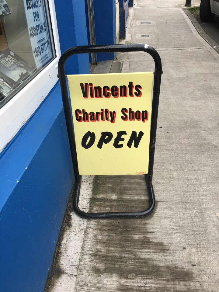 Vincents sign