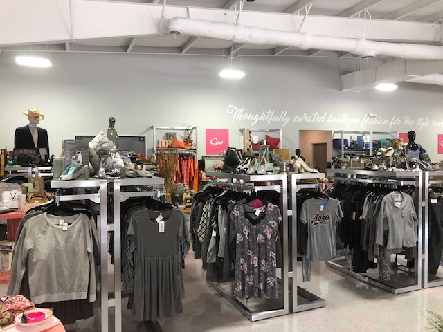 A Classy Goodwill Boutique with High-End Prices