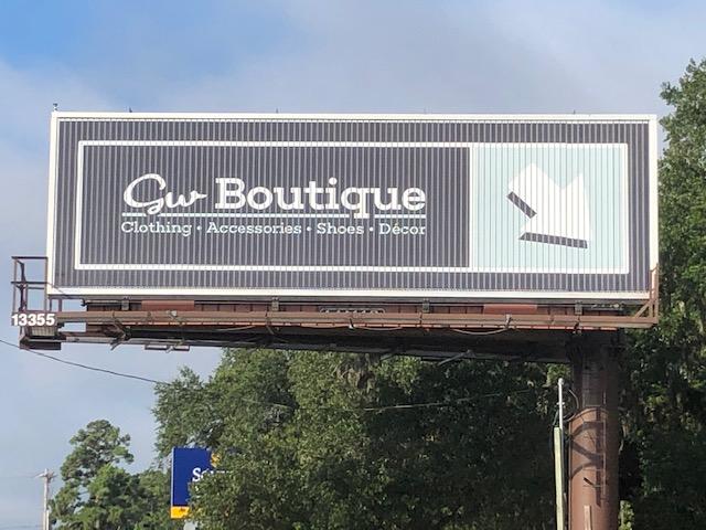 GW exterior sign