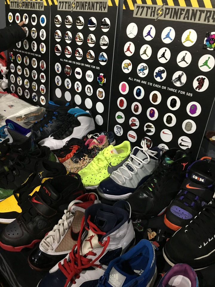 sneaker array